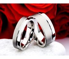 Modeschmuck-Ringe im Ehering-Stil aus Titan