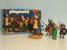 Playmobil Caballeros Entrenamiento justa medieval años 90 Ref 3668