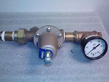 Watts 25AUB Water Pressure Reducer w/ gauge 0-100psi