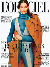 L'OFFICIEL Paris 08/2014 Frankie Rayder NATALIA VODIANOVA Sophie Vlaming @NEW@
