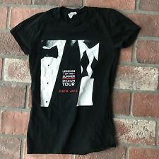 Justin Timberlake & Jay Z Women's Small Legends Of The Summer Tour 2013 T Shirt