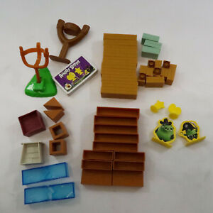 Angry Birds Knock on Wood Space Game Blocks Launche Pieces Parts Replacement Lot