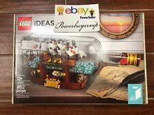 NEW LEGO IDEAS 21313 Ship In A Bottle Genuine Lego 2 Day Get