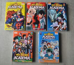 Lot - Manga My Hero Academia - 5 livres -