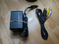 Sega Genesis (Model 1) /Sega Master System Power Supply and AV Cable/TV Hookups