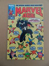 Marvel Age 19 .Special Star Comics .  Marvel 1984 . VF