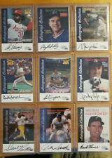 1999 Sports Illustrated Greats of the Game Autographs You Pick Choice Auto