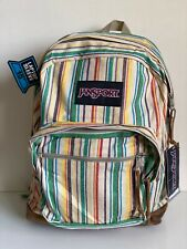 NEW! JANSPORT RIGHT PACK EXPRESSIONS STRIPES SCHOOL TRAVEL BACKPACK BAG SALE