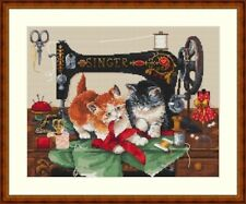 10% Off Merejka Counted Cross-Stitch Kit - Players & Singer