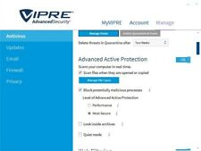 VIPRE ADVANCED SECURITY ANTIVIRUS-LIFETIME 1PC-2017/2018+ w/ANNUAL UPDATES