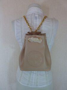NWT Tory Burch Key Item New Mink Leather Mini Backpack $398.00