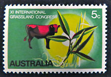 1970 Australian Stamps - 11th National Grassland Congress - Single MNH