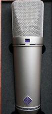 Neumann U 87 Ai ni Condenser Microphone and Neumann EA 87 Elastic Suspension