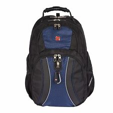 "* Swiss Gear Scan Smart 17"" Blue Laptop Backpack NWT - Free Shipping!"