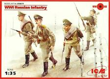 GUERRE MONDIALE I RUSSIAN INFANTRY #35677 1/35 ICM