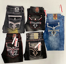 Rock Revival Jeans Mens Brand New With Tags Free Shipping New Styles