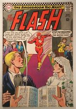 """The Flash #165 (DC 1966) FN+ """"One Bridegroom Too Many!"""""""