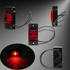 LED Begrenzungsleuchte Umrissleuchte12V 24V Volt Markierung Rot F