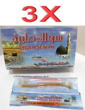 3 X Siwak Tybah Yoro Miswak Brosse à Dents L'Arbre à Soins Buccaux Islam
