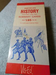 LRN~Visual-Education  American History Discovery-Civil War Summery Cards