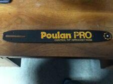"New Poulan Pro sprocket tip 14"" chainsaw Bar"