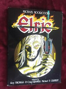 Signed Limited Hardcover MICHAEL MOORCOCK'S ELRIC OF MELNIBONE - 1986, 1 of 2000