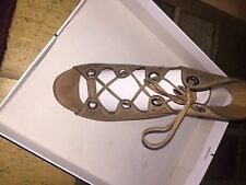 NEW!!!! Dolce Vita Lace Up Wedge Sandals 7.5
