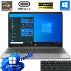 HP Notebook 15,6 Zoll AMD Ryzen 5 5500U @4GHz 8GB DDR4 512GB m2 SSD FullHD Win10