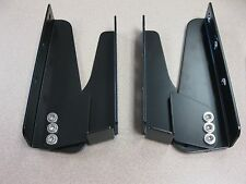 STANDARD BLACK DEGREE ALUMINUM BOAT FOLDING SEAT / CHAIR HINGES (SET OF 2)