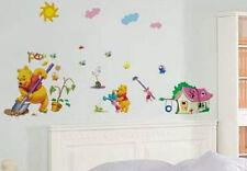 Winnie the Pooh Childrens Wall Stickers Art Nursery Play room LD1184 UK STOCK