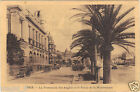 06 - cpa - NICE - La Promenade des Anglais et le Palais de la Méditerranée