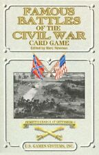 FAMOUS BATTLES OF THE CIVIL WAR PLAYING CARD DECK