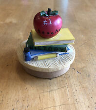 Teacher Candle Topper Yankee Candle/Our America Gift Jar Candle Topper