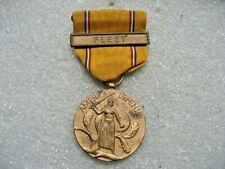 /Medal American Defense with FLEET Bar,ww2