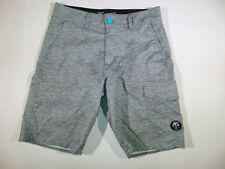 73d53eef61 VANPHIBIAN Series by VANS Heathered Gray Hybrid Surf Board Shorts Size 30,  EUC