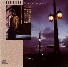 "DAN SIEGEL CD: ""LATE ONE NIGHT"" 1989"
