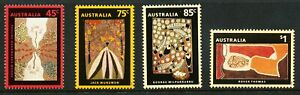 Australian 1993 Dreamings, set of 4, mint never hinged