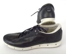 ECCO COOL GTX Sz 42 10-10.5 US Casual Athletic Walking Shoes Black Yak Leather