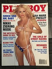 PLAYBOY JULY 2003 NIkki Ziering with Lisa Marie Presley Interview Issue