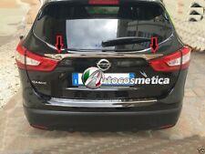 modanatura cromata acciaio per Nissan Qashqai 14 baule portabagagagli cromo