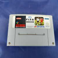 FIFA International Soccer Super Nintendo SNES Game