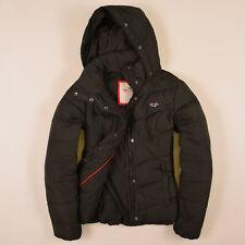 Hollister California Damen Jacke Jacket Gr.L (D40) Daunenjacke Dunkel Grün 73240