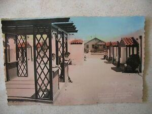 ENSENADA, BC, MEXICO ~ REAL PHOTO California Bungalows type motel