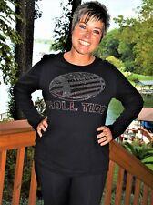Alabama football rhinestone  bling shirt XS S M L XL XXL 1X 2X 3X 4X 5X