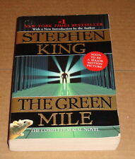 Stephen King The Green Mile Complete Serial Novel Book