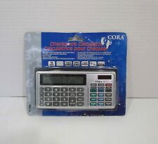 CORA TK-824 Checkbook Calculator
