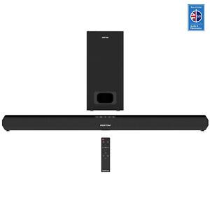 Azatom Soundbar & Subwoofer 2.1 120W HDMI Bluetooth 4K UHD TV speaker Premier