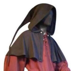 Medieval Long Tailed Hood (Red, Brown, Black) - 5001