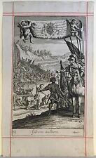 JAN JOHANNES KIP (c.1653-1722) GIDEONS SOLDIERS - SCHLACHTENSZENE - BAROCK 1700