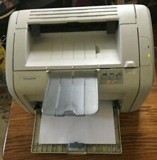 Used HP LaserJet 1018 Laser Printer